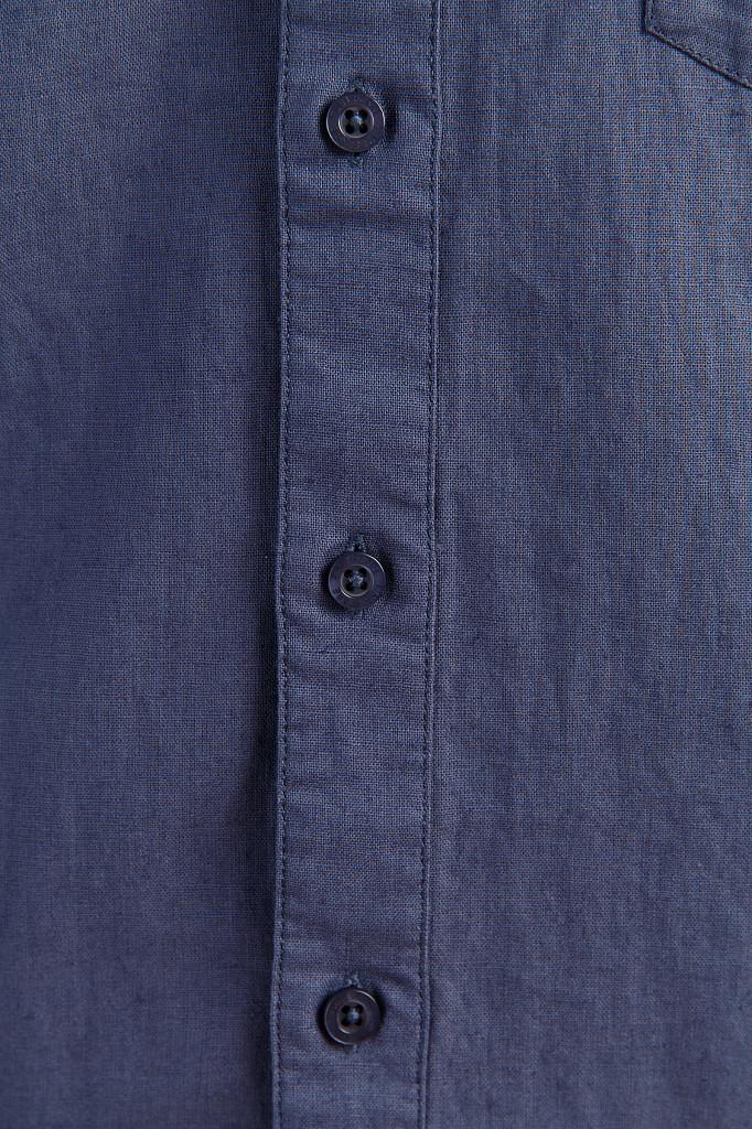 Рубашка мужская Finn Flare, цвет серо-голубой, размер 3XL - фото 5