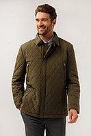 Куртка мужская Finn Flare, цвет темно-зеленый, размер 4XL