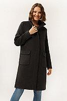 Пальто женское Finn Flare, цвет темно-серый, размер M