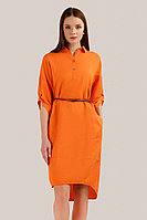Платье женское Finn Flare, цвет оранжевый, размер 2XL