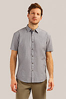 Рубашка мужская Finn Flare, цвет серый, размер 3XL