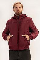 Куртка мужская Finn Flare, цвет вишневый, размер M
