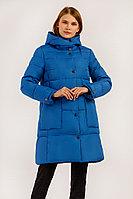 Пальто женское Finn Flare, цвет синий, размер 3XL