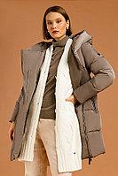 Пальто женское Finn Flare, цвет светло-коричневый, размер 3XL