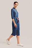 Платье женское Finn Flare, цвет синий, размер 2XL