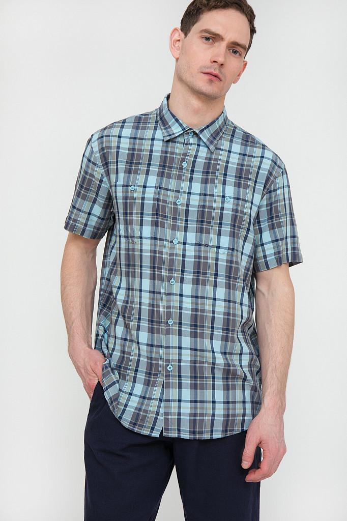 Рубашка мужская Finn Flare, цвет светло-голубой, размер 3XL - фото 2