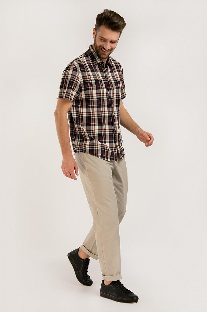 Рубашка мужская Finn Flare, цвет темно-синий, размер 3XL - фото 2