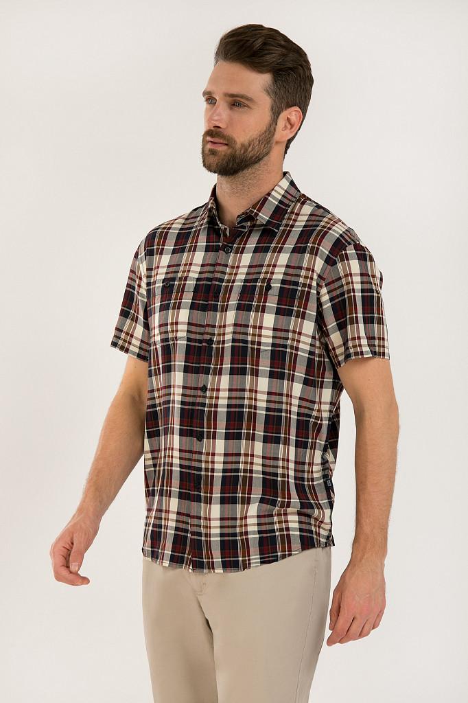 Рубашка мужская Finn Flare, цвет темно-синий, размер 3XL - фото 3