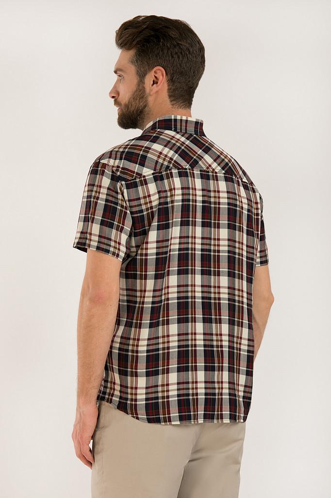 Рубашка мужская Finn Flare, цвет темно-синий, размер 3XL - фото 4