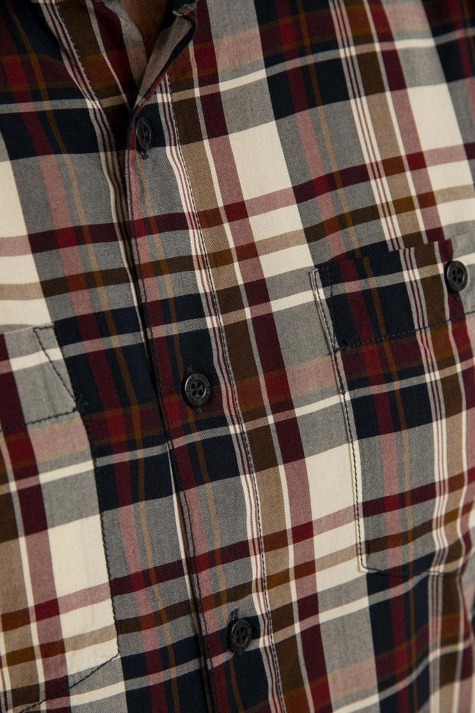 Рубашка мужская Finn Flare, цвет темно-синий, размер 3XL - фото 5