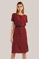 Платье женское Finn Flare, цвет бордовый, размер XS