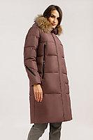 Пальто женское Finn Flare, цвет коричневый-красный, размер XS