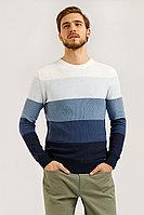Джемпер мужской Finn Flare, цвет темно-синий, размер M