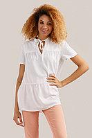 Блузка женская Finn Flare, цвет белый, размер XL