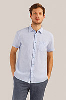 Рубашка мужская Finn Flare, цвет голубой, размер 3XL