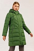 Пальто женское Finn Flare, цвет зеленый, размер XS