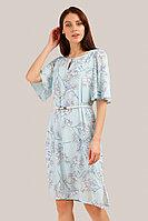 Платье женское Finn Flare, цвет голубой, размер L