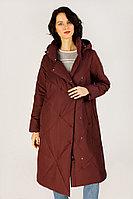Пальто женское Finn Flare, цвет вишневый, размер M