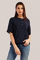 Блузка женская Finn Flare, цвет темно-синий, размер M