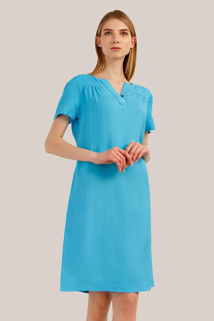 Платье женское Finn Flare, цвет бирюзовый, размер L - фото 1