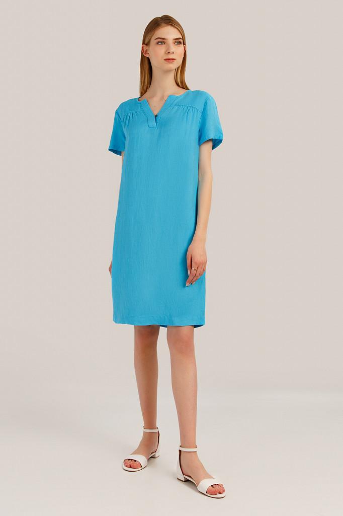 Платье женское Finn Flare, цвет бирюзовый, размер L - фото 2