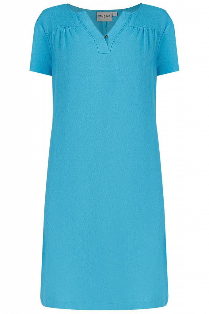 Платье женское Finn Flare, цвет бирюзовый, размер L - фото 6