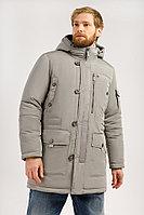 Пальто мужское Finn Flare, цвет cement (серо-зеленый), размер 3XL