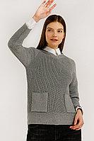Джемпер женский Finn Flare, цвет серый, размер S