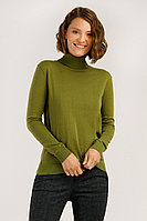 Джемпер женский Finn Flare, цвет aloe (светло-зеленый), размер 2XL