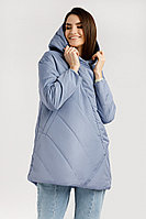 Куртка женская Finn Flare, цвет голубой, размер 2XL