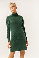 Платье женское Finn Flare, цвет темно-зеленый, размер L