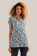 Блузка женская Finn Flare, цвет голубой, размер M