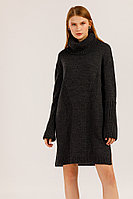 Платье женское Finn Flare, цвет темно-серый, размер XS