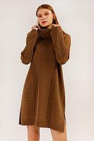 Платье женское Finn Flare, цвет светло-коричневый, размер XS