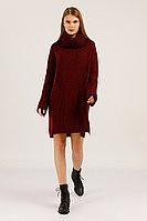 Платье женское Finn Flare, цвет вишневый, размер XS