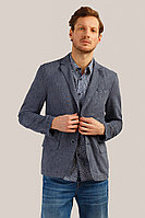 Пиджак мужской Finn Flare, цвет темно-синий, размер M