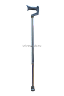 Трость телескопическая с ортопедической ручкой