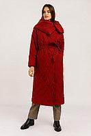 Пальто женское Finn Flare, цвет гранатовый, размер M/L