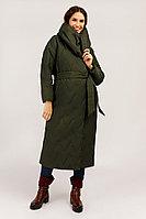 Пальто женское Finn Flare, цвет темно-зеленый, размер XL/2XL