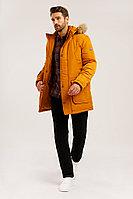 Полупальто мужское Finn Flare, цвет желтая охра, размер 3XL