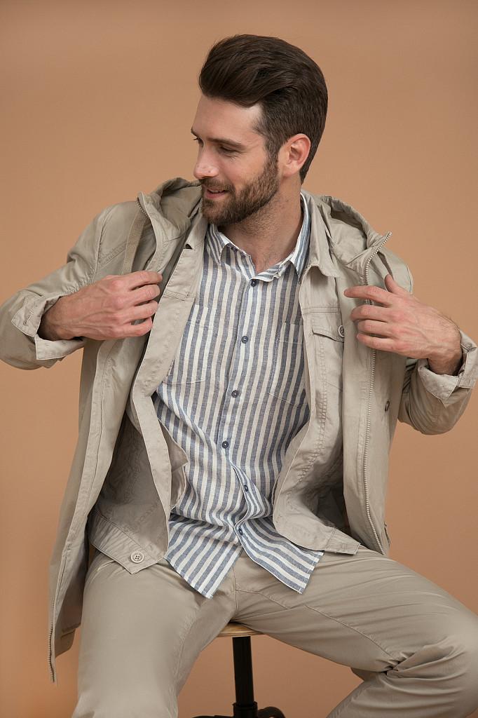 Рубашка мужская Finn Flare, цвет голубой, размер 3XL - фото 2