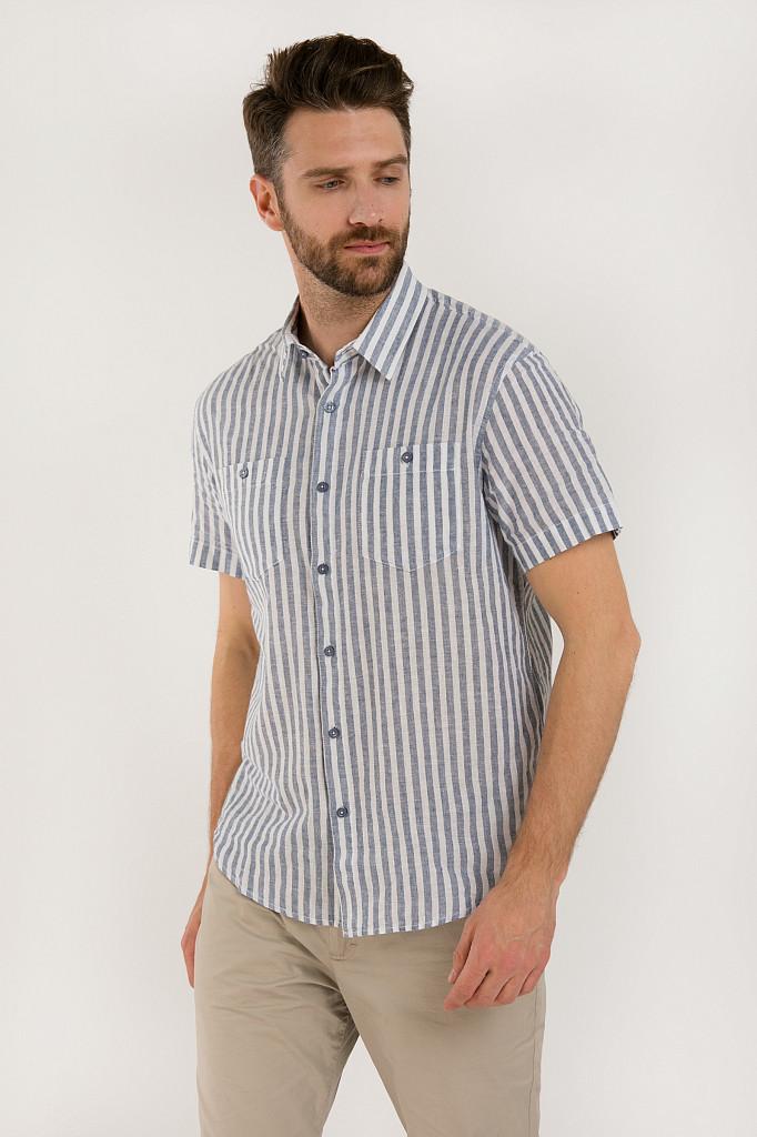Рубашка мужская Finn Flare, цвет голубой, размер 3XL - фото 3