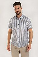 Рубашка мужская Finn Flare, цвет голубой, размер 2XL