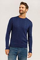 Джемпер мужской Finn Flare, цвет темно-синий, размер 3XL