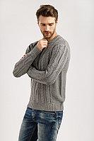 Джемпер мужской Finn Flare, цвет серый, размер 3XL