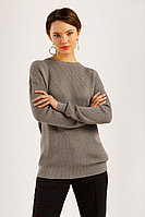 Джемпер женский Finn Flare, цвет серый шелк , размер 2XL