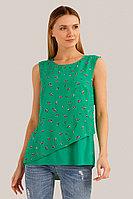 Блузка женская Finn Flare, цвет зеленый, размер M