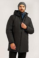 Пальто мужское Finn Flare, цвет темно-серый, размер 3XL