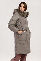 Пальто женское Finn Flare, цвет светло-коричневый, размер M