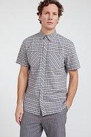 Рубашка мужская Finn Flare, цвет cement (серо-зеленый), размер 5XL